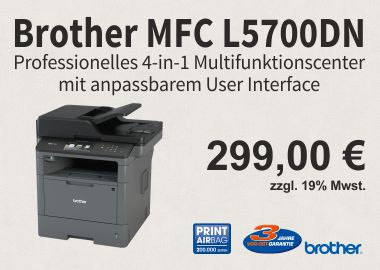 Brother Multifunktionsgerät MFC-L5700DN 4:1