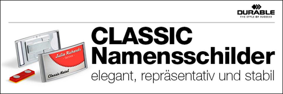 Namensschilder CLASSIC