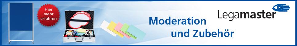 Legamaster Moderation und Zubehör