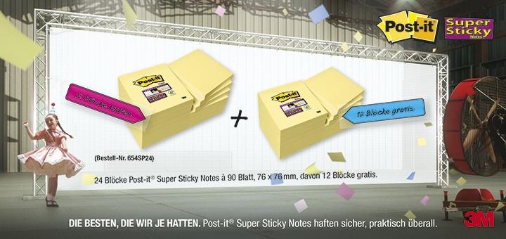 3M Super Sticky Promotion 12+12