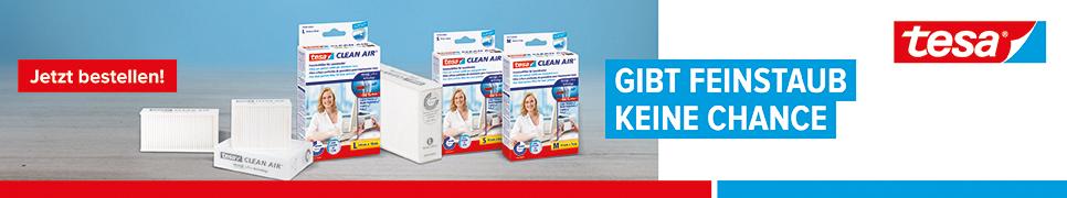 tesa® Feinstaubfilter Clean Air®