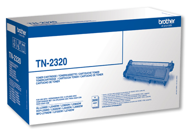 Brother Toner TN-2320 schwarz